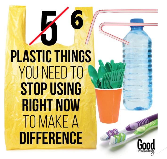 6 plastic items to avoid