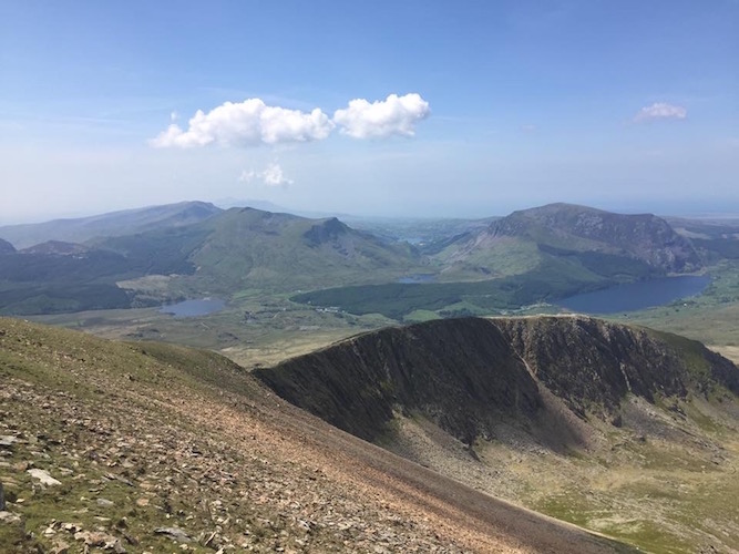 Snowdon Rhyd Ddu and South Ridge - Snowdonia Walking Festival