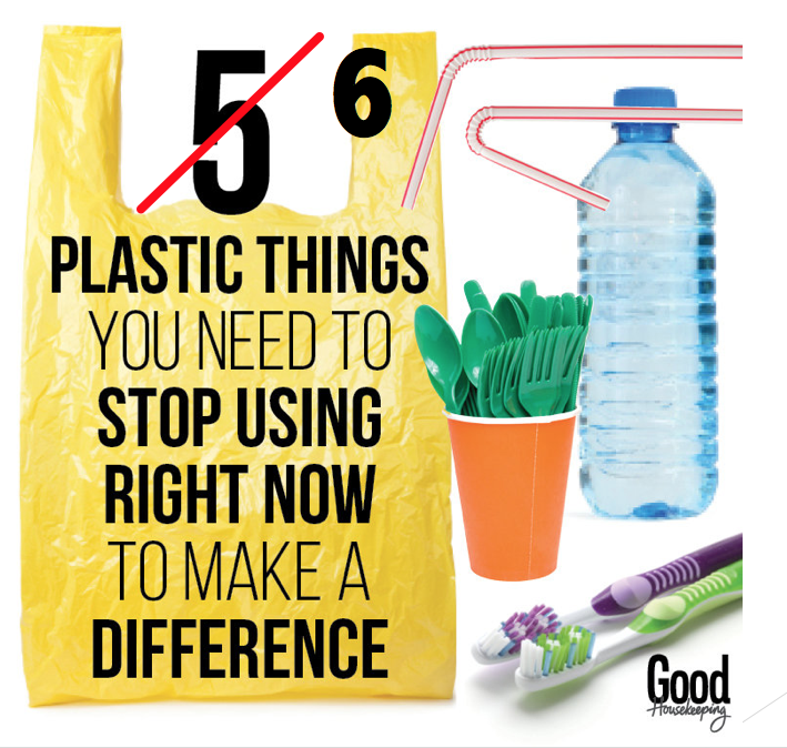 6 plastic items to avoid