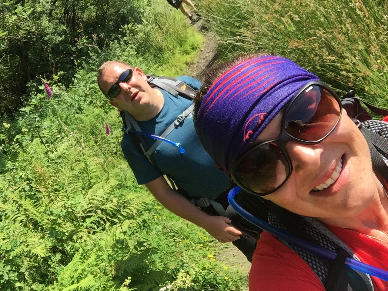 Snowdonia Challenge - Maria and Russell