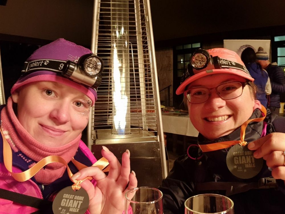Great Orme Giant Walk medals