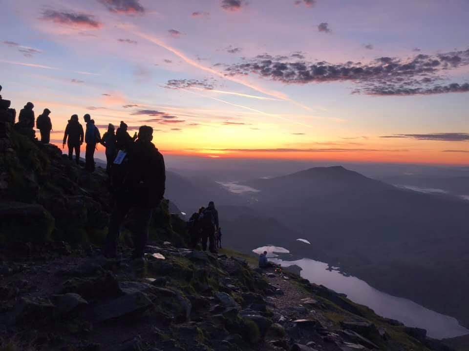 Snowdon Sunrise with Severn Hospice