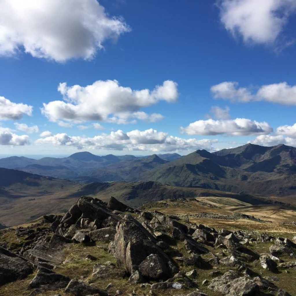 Snowdon from Moel Siabod